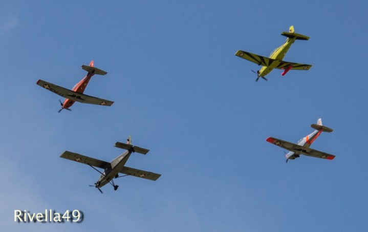 Flugshow in Magadino