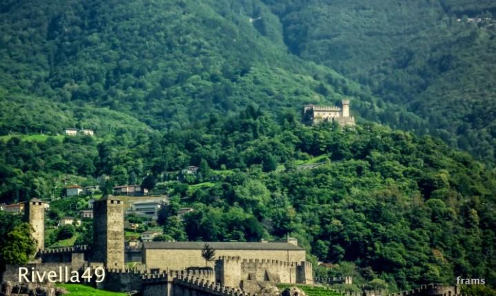 Die Burgen in Bellinzona
