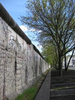 Mauer in Berlin!!