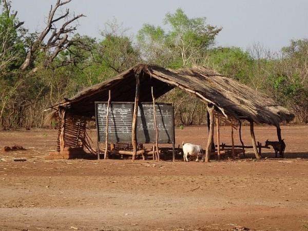 School in Tchad by Hans Keller