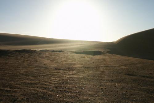 Complete quietness in the Lybian Desert/M.Ramsauer