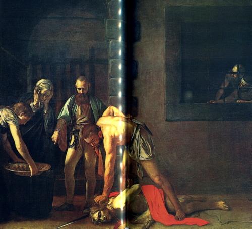 Die Enthauptung des Johannes/Caravaggio