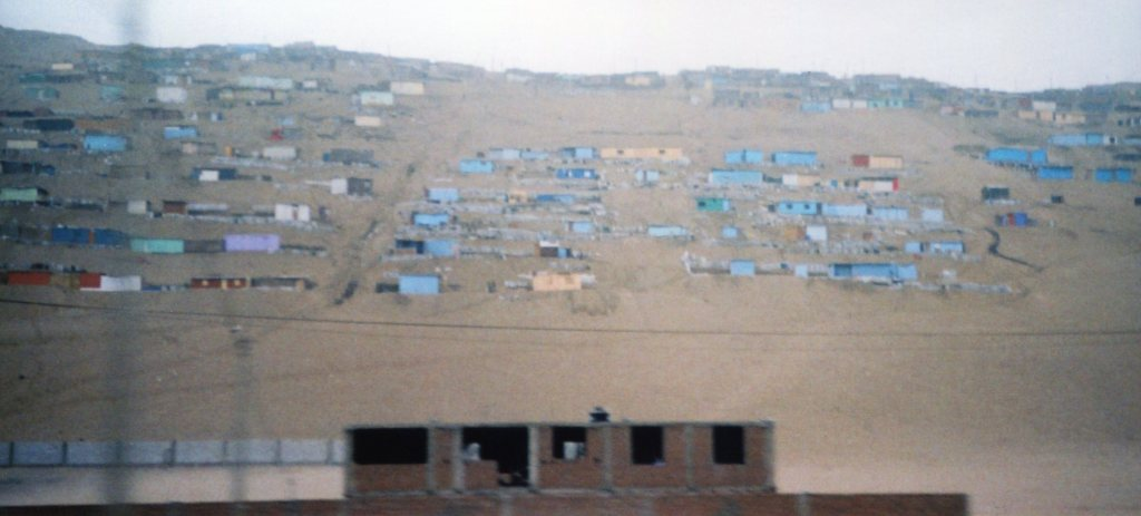 Here we can see the Favelas.