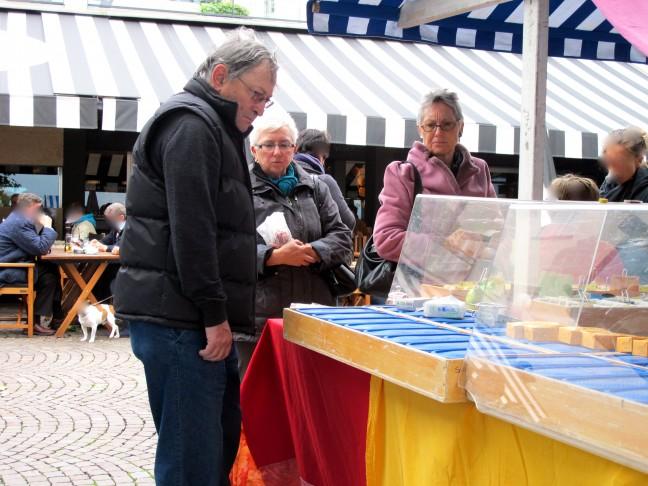 At the autumn market