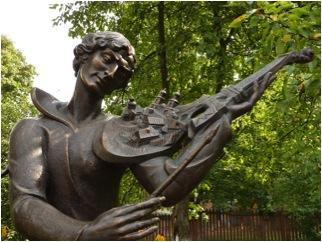 Mark Chagall mit Geige3