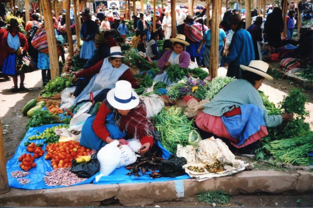 Auf dem Markt/M.Ramsauer