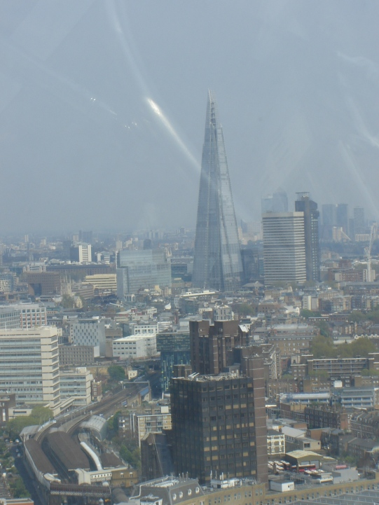 The SHARD is in the back