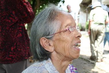 Eine Bäuerin in China/M.Ramsauer