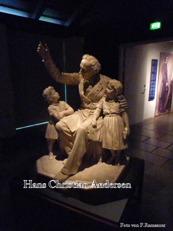 Hans Christian Andersen in Odense