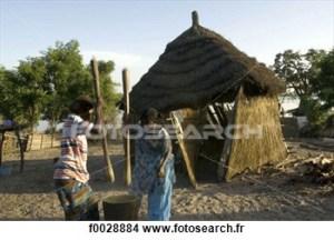 village au senegal