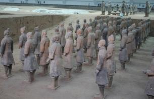 Terrakotta Krieger in Xian M.Ramsauer