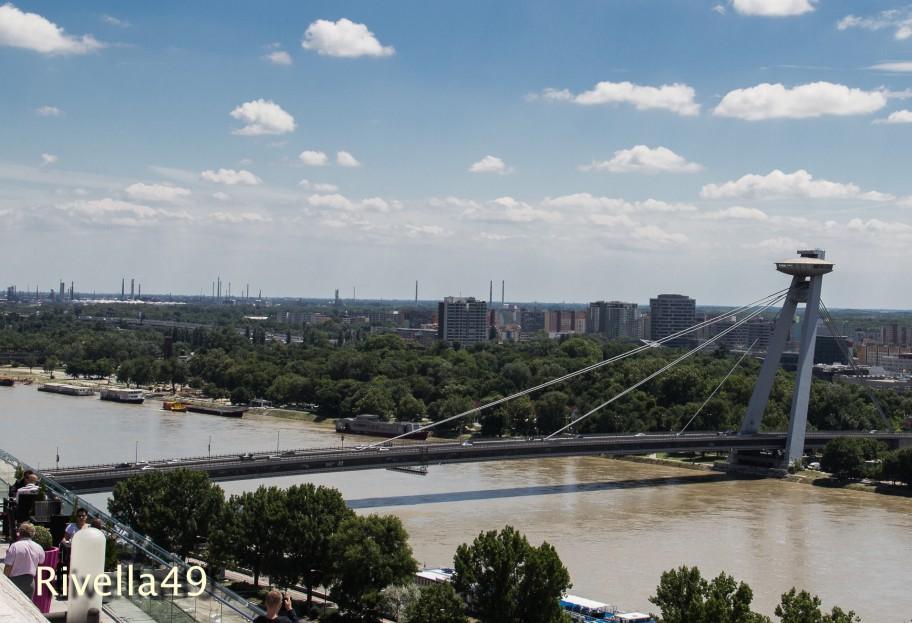Neue Brücke in Bratislava/New bridge/ponte nuovo