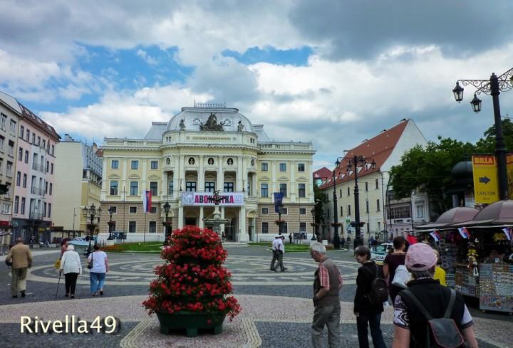Opernhaus Bratislava Altstadt