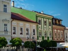 Bürgerhäuser in Banska Bistrica/Burgher houses/Case borghesi case borgheisi/Foto M.Ramsauer/https://rivella49.wordpress.com/2013/06/29/slovakeislovakiaslovacchia/