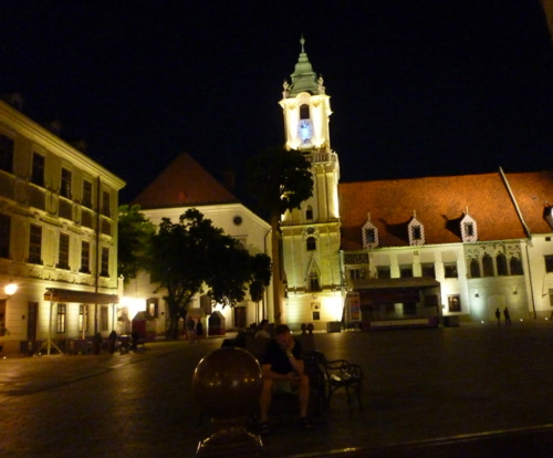 in der Altstadt/In città vecchia/in the old town/