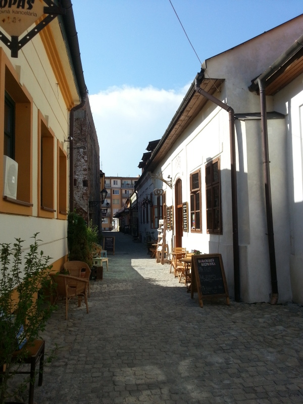 Gässchen in Kosice/M.Ramsauer