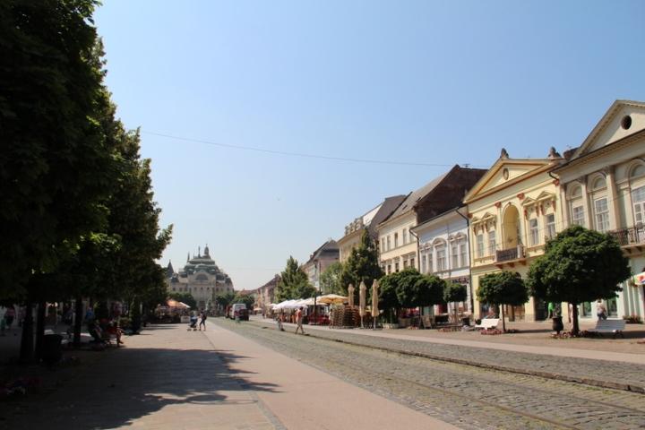 Die Hauptstasse in Kosice/M.Ramsauer