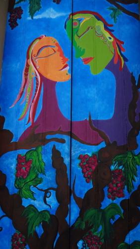 Du und ich :Wir sind eins. Ich kann dir nicht whrtun ohne mich zu verletzen. (Mahatma Gandi) (You and I: We are one. I can't hurt you without hurting myself.) (Tu e me: Siamo uno. Non posso ferirti senza far male a me stesso.)