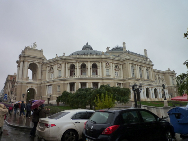 Opera in Odessa in face of the Ephrussi Bank