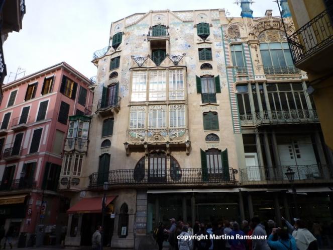 Jugendstilhäuser in Palma