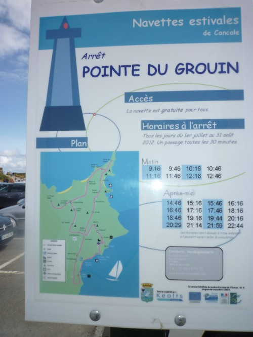 Pointe de Grouin, west of St.Malo/Picture F.Ramsauer