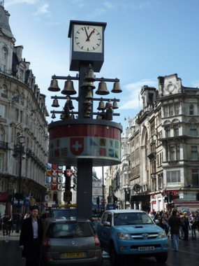 Swiss Clock in London