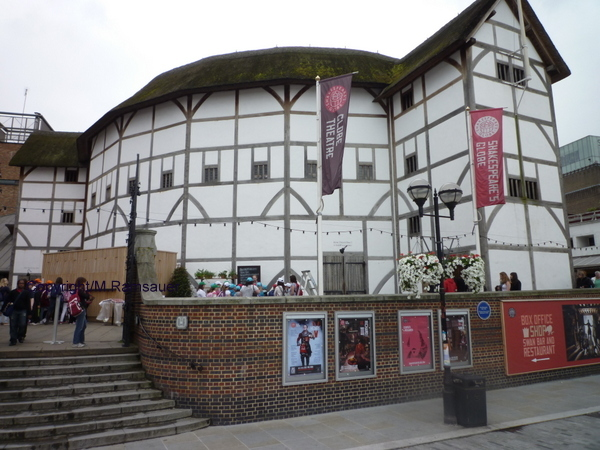 SHEAKESPEARE'S GLOBE, IN THE LONDON BOROUGH OF SOUTHWARK