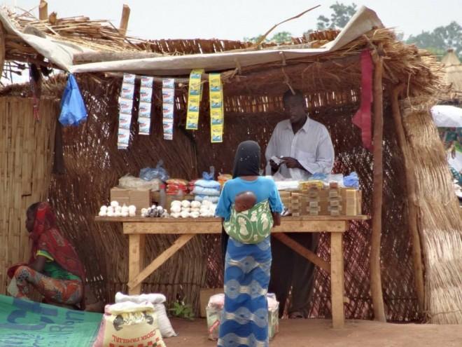 Shop in Africa! Geschäft in Afrika, negozio in Africa