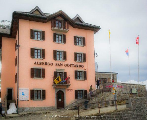 Zur Eröffnung an die Eröffnung der ALPTRANSIT am 1.6.2016 ein Gedanke auch and den Gotthard-Pass