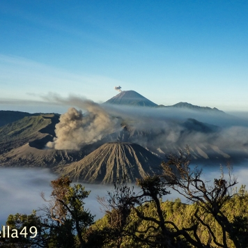 Mount Bromo in Java