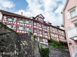 Das wunderschöne Meersburg mit seinen Fachwerkhäusern./https://rivella49.wordpress.com/2014/07/21/meersburgannette-von-droste-hulshoffde/