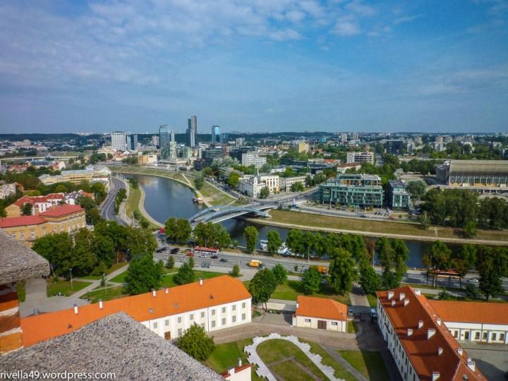 Vilnius vom Turm aus gesehen
