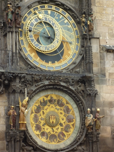 This medieval astronomical clock is not in China but in Prague!