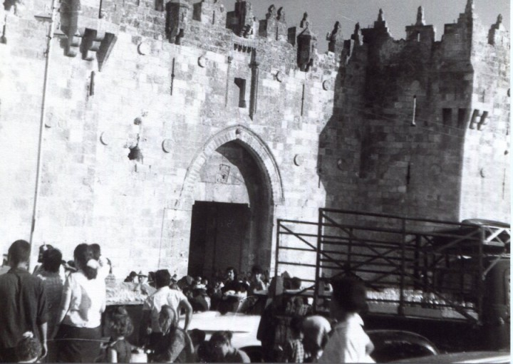 Meine Reise nach Jerusalem einige Tage nach dem sechs Tage Krieg 1967