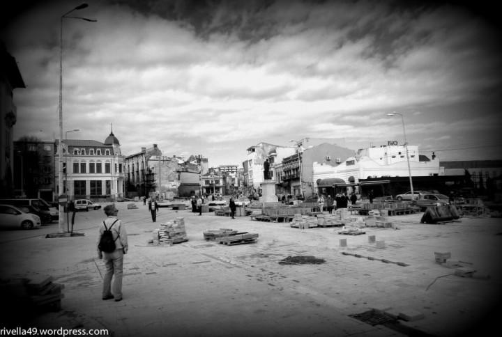 Die Stadt Costantia, Rmänien, 2014