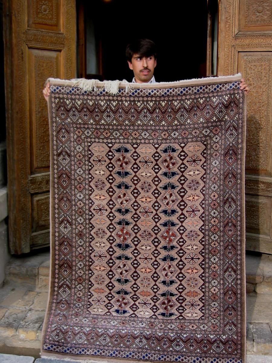 Sedenteppich/Silk carpet/tappeto di seta/Martina Ramsauer