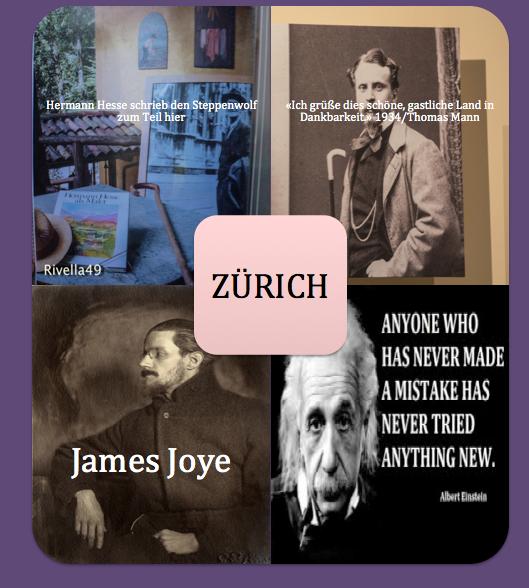 Grosse Künstler, die teilweise in Zürich lebten
