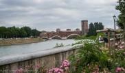 Il bellissimo Ponte Scaligero/ Die zauberhafte Scaligero Brücke / The goregous Scaligero Bridge