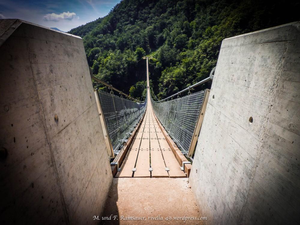 Tibetanische Hängebrücke