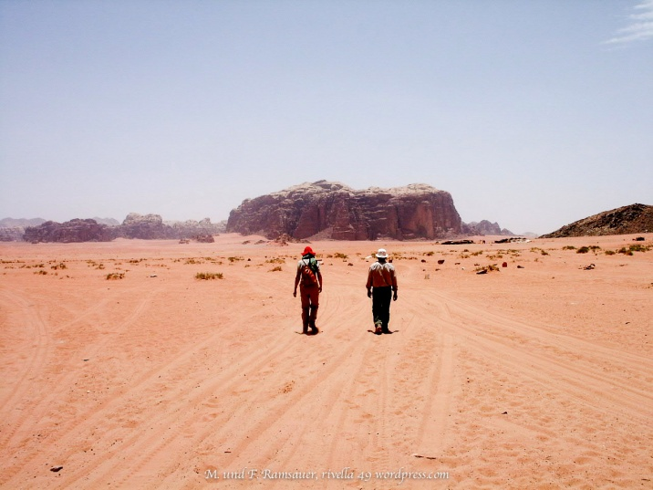 Im Wadi Rum/Jordanien/
