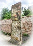 Das ist ein Stück der Berliner Mauer im Willy Brandt Haus