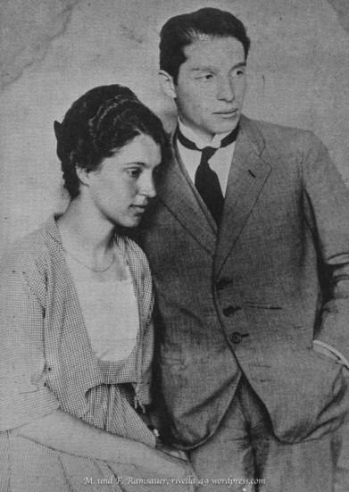 Aline und Wladimir Rosenbaum
