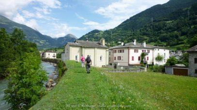 On the way to Poschiavo