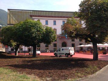 Pala Cinema, Locarno/neu restauriertes Gebäude/newly restored building/appena ristaurato!